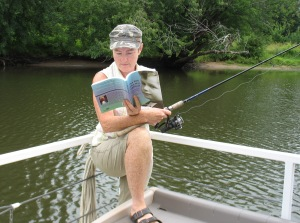 Diane would like to catch a small-mouth bass like John Humphrey did!